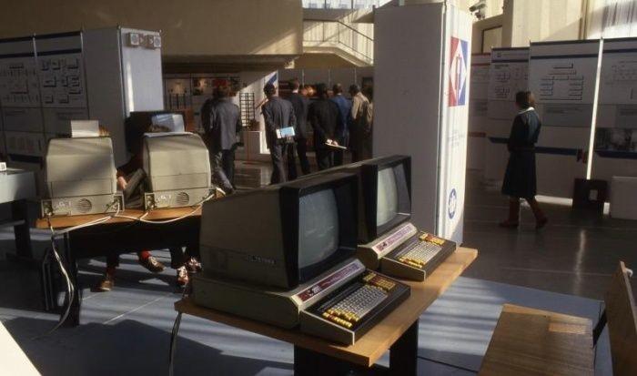 Компьютеры на выставке «Интенсификация—90», 1985 год, Ленинград было, история, фото