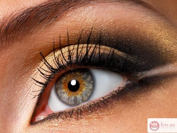 Как изменить форму глаз при помощи макияжа