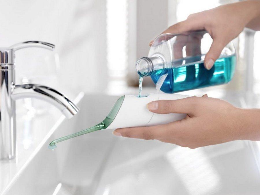 Ирригатор полости рта — новый способ ухода за зубами