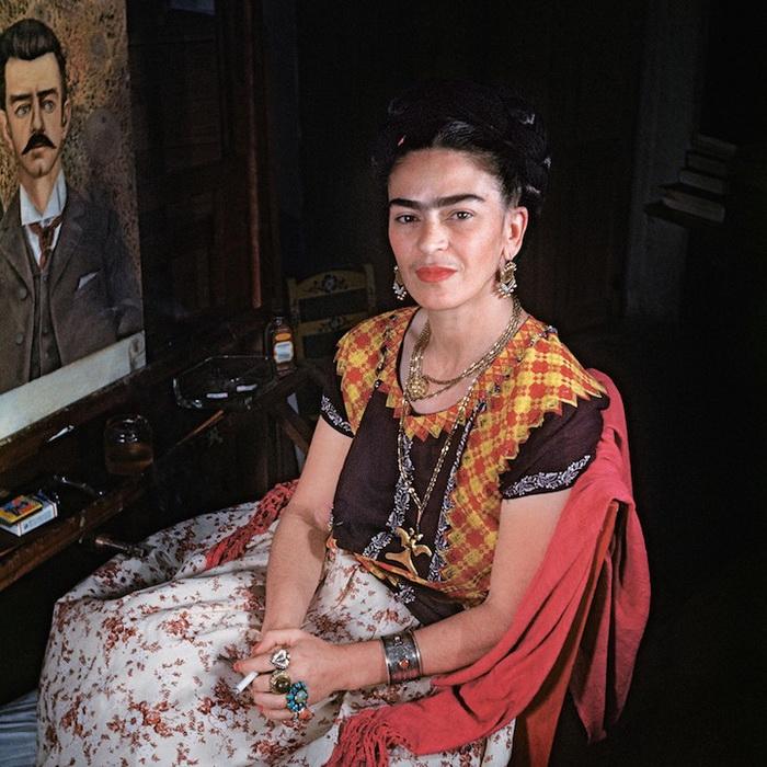 Редкие снимки Фриды Кало, сд…