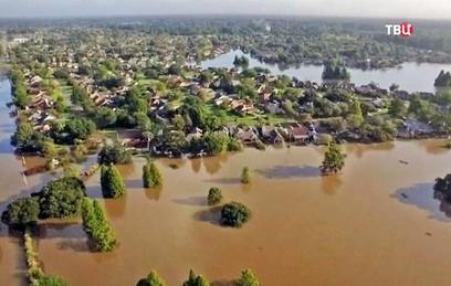 В Луизиане ввели режим чрезвычайного положения из-за наводнения