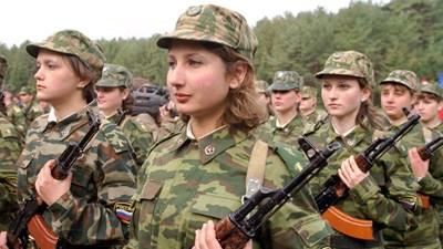Бабы в русской армии видео фото 677-458