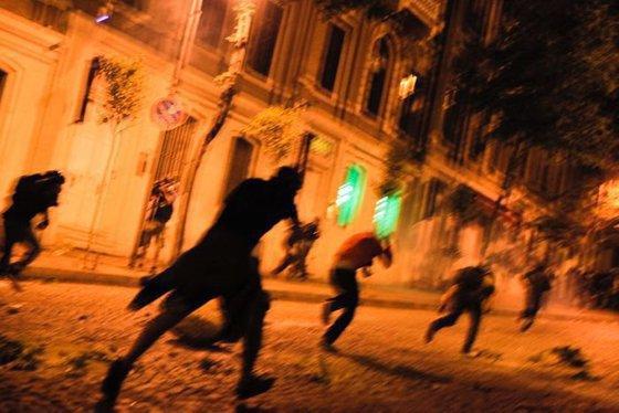 Полиция приготовила целый арсенал для разгона беспорядков