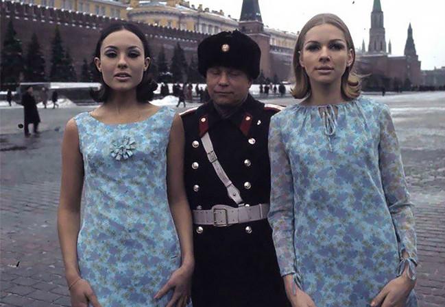 Голландские модели в СССР (17 колоритных фото)
