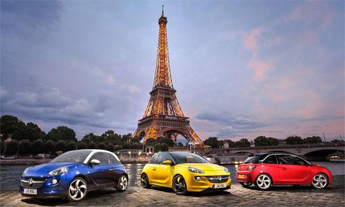 Стала известна цена Opel Adam