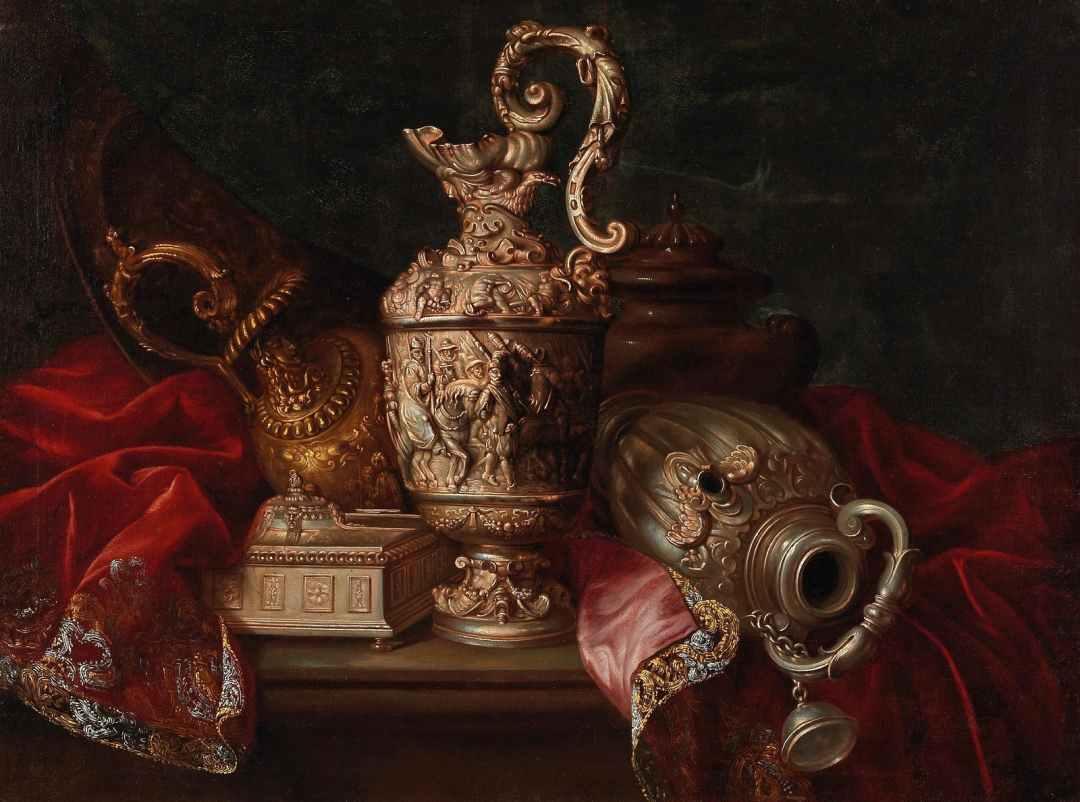 Парижская роскошь 1680 гг  на полотнах художника Мейфрена Конта