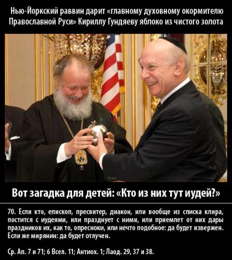 Жиды и Патриарх Кирилл, что между ними общего?