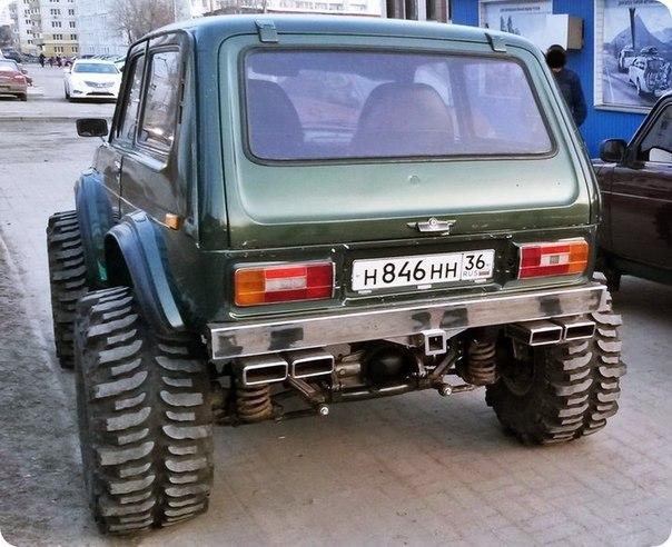 Нива 4х4 из Воронежа