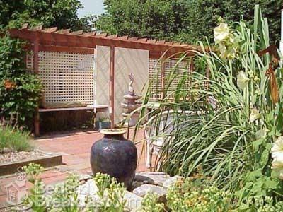 дизайн частного двора фото 16