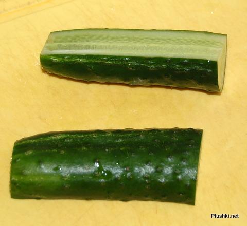 Украшение из огурца и помидора: пошаговый фото-рецепт