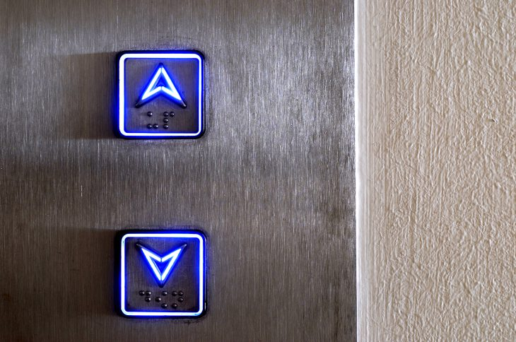 Захожу я в лифт, а там уже стоят четверо…
