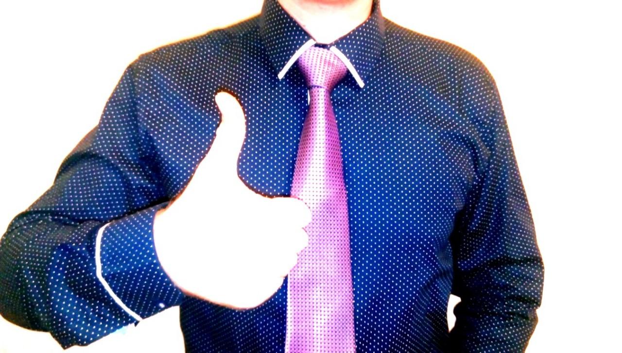 Как завязать галстук пошагово. Простой способ.