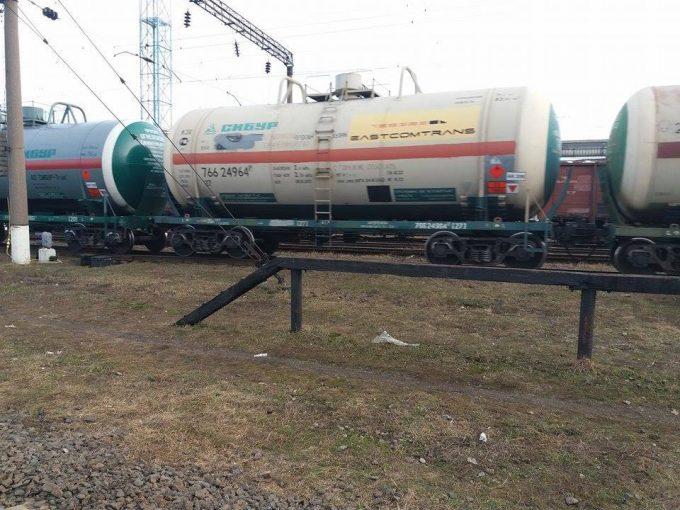 Украинские боевики заблокировали железную дорогу в Россию