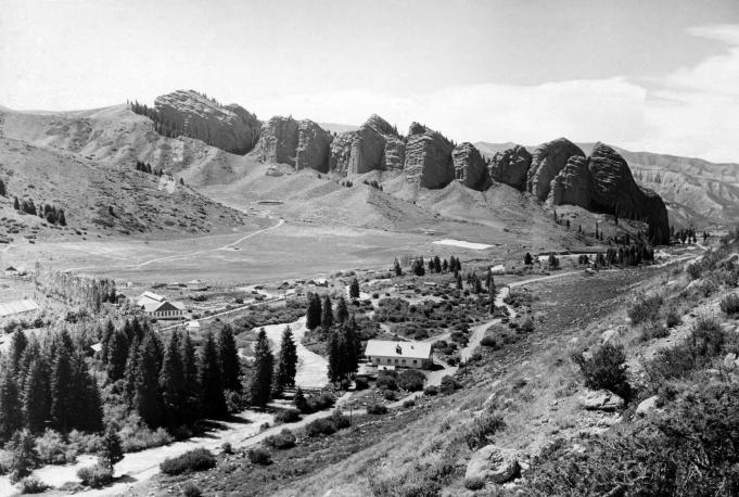 Крымские горы, 1955 год
