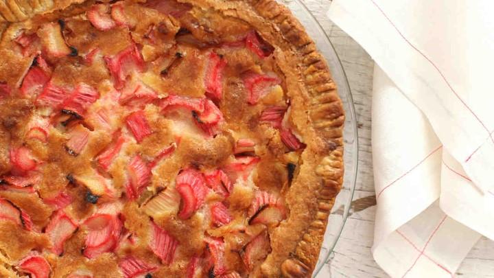 Пироги с ревенем рецепт