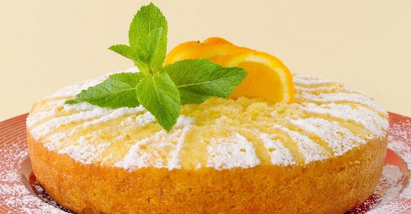 Рецепт макового торта с апельсинами