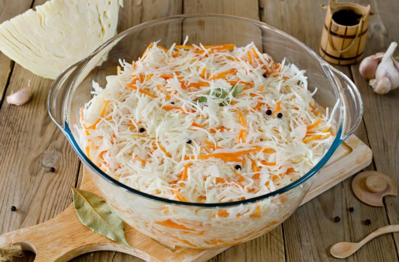 Картинки по запросу квашеная капуста с морковью