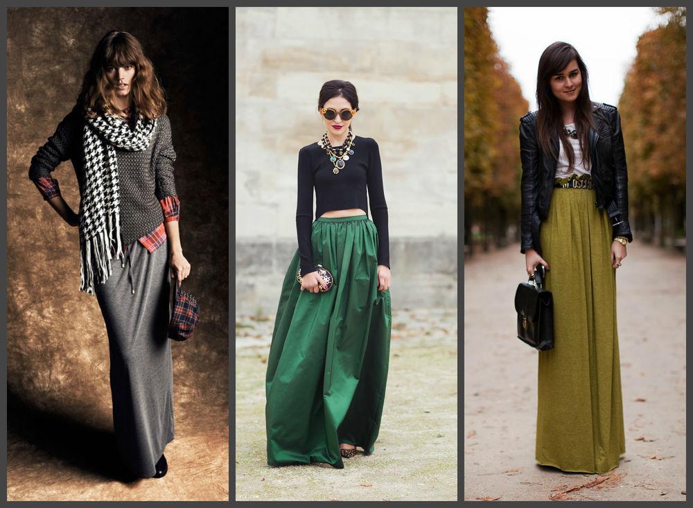 Макси-юбка: стильно, женственно, шикарно