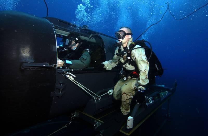 Сверхмалые субмарины для боевых пловцов Mark 8 Mod 1
