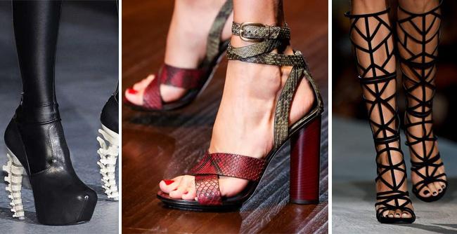 Модная женская обувь. Стиль, цвета и материалы