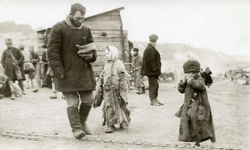 Голод в Поволжье: фотографии, сделанные иностранцами в России в 1920-х