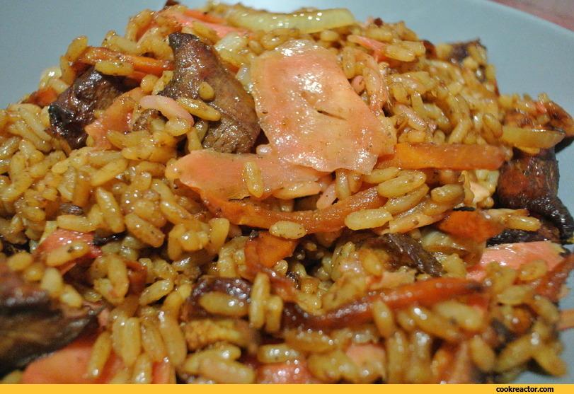 Рис по-китайски с имбирем: императорское блюдо!