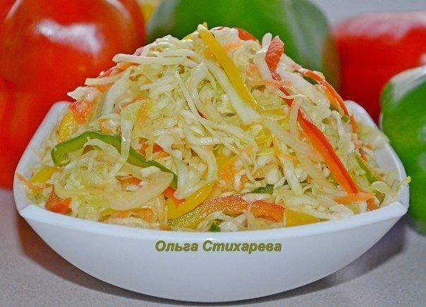 Осенью это блюдо будет очень кстати — салат витаминный