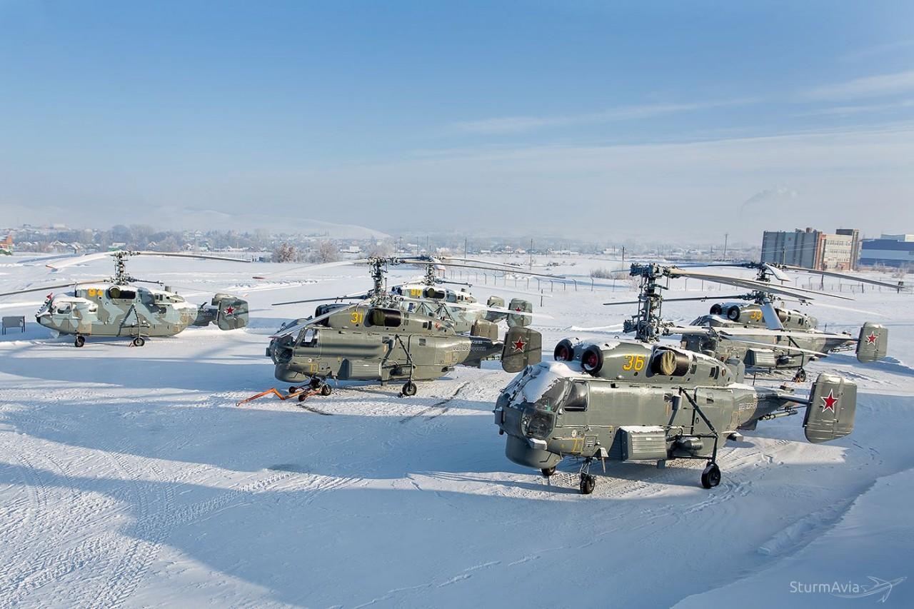 Модернизированные Ка-27М