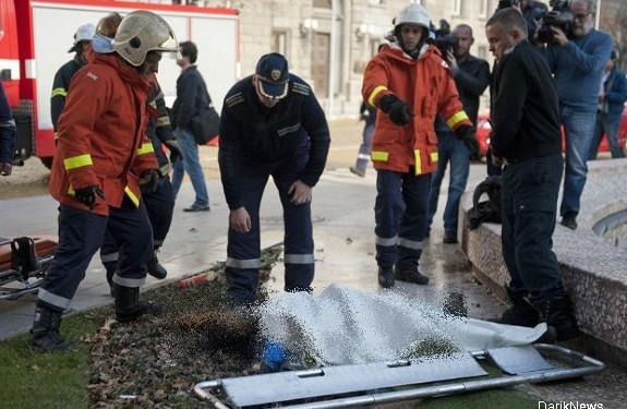 Женщина сожгла себя у резиденции президента Болгарии