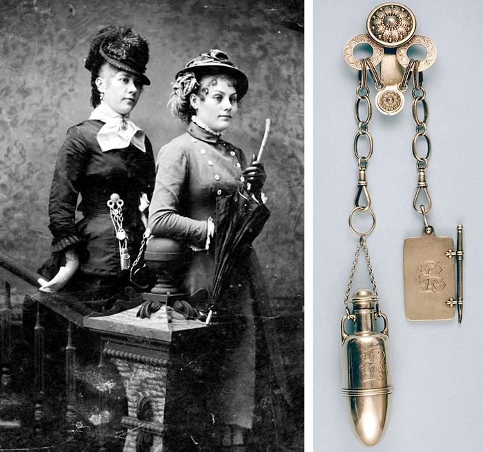 Мода из прошлого: викторианский шатлен - стильная предтеча дамской сумочки