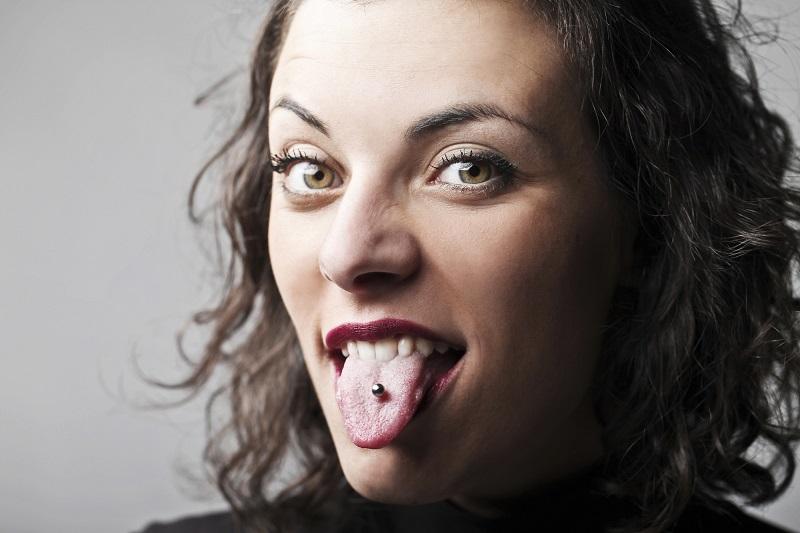 пирсинг языка