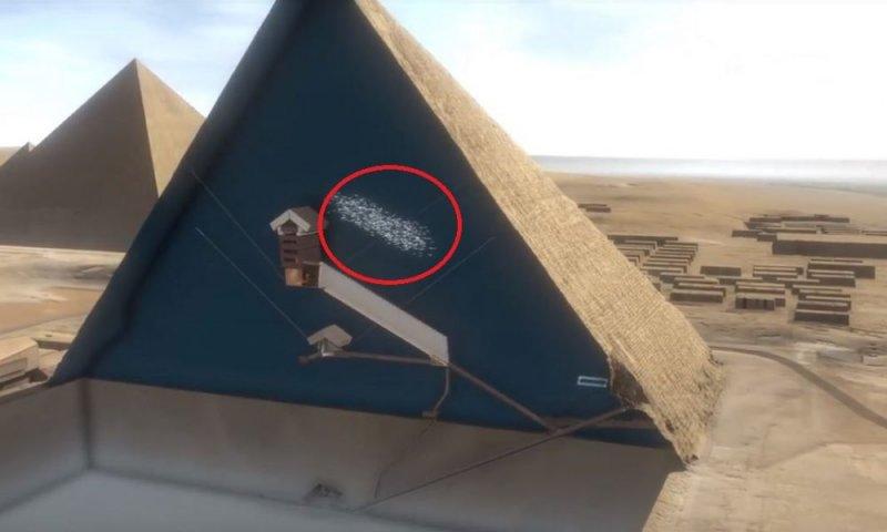 Внутри пирамиды Хеопса обнаружили огромную потайную комнату