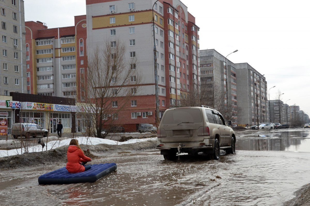 Когда в Россию пришла весна