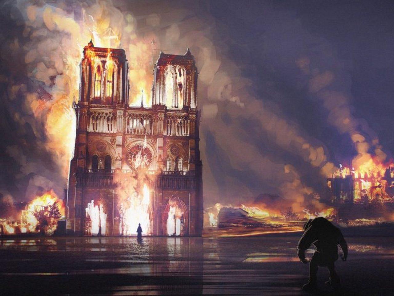 Пожар в Соборе Парижской Богоматери как точка отсчета в новой войне противоборствующих архетипов