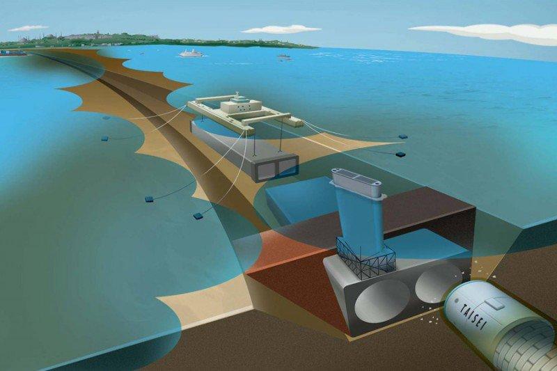 Китайцы предлагают построить тоннель в Крым
