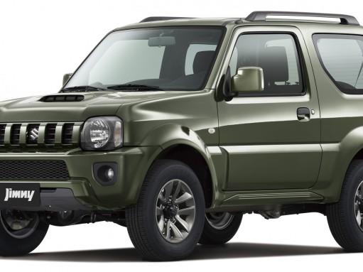 Suzuki слегка освежила вседорожник Jimny