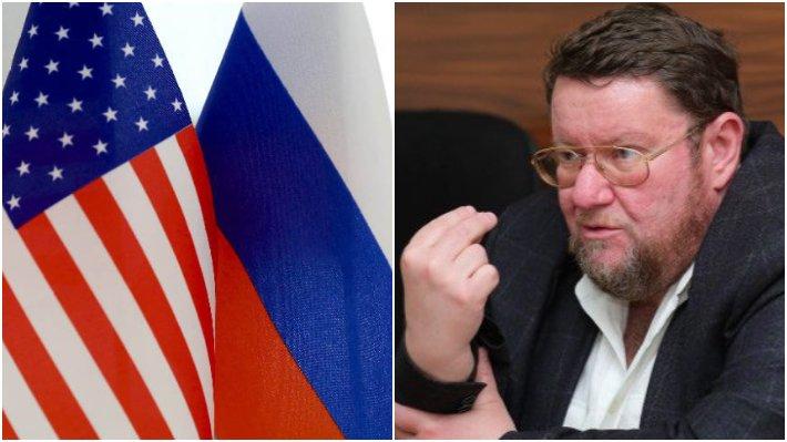 """Сатановский: Россия очень влияет на такую чувствительную для США тему, как цену бензина / Коллаж: ФБА """"Экономика сегодня"""""""
