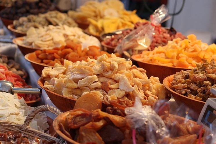 Сухофрукты: польза и вкус