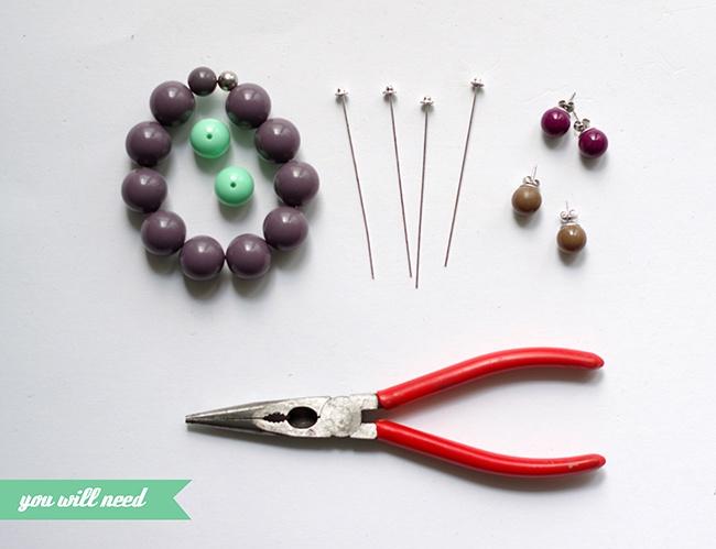 Очень простой способ повторить сережки Dior