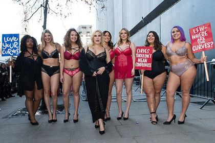 Модели plus-size удивили зрителей лондонской Недели моды