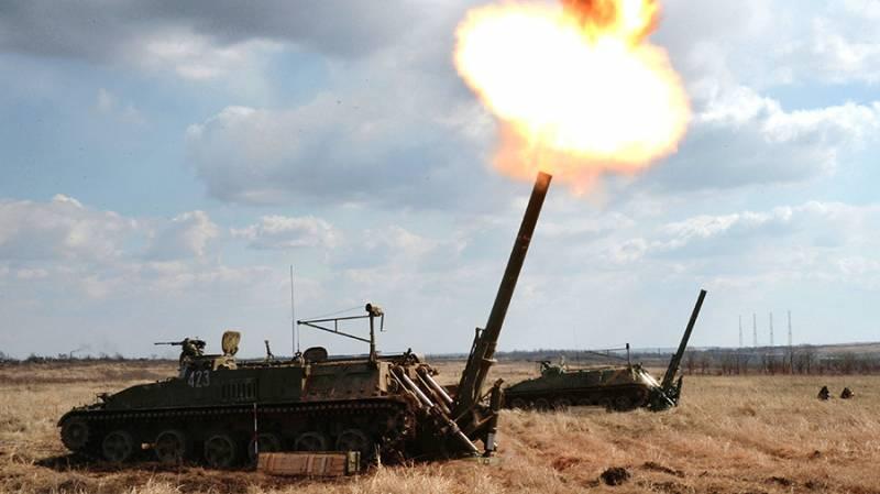 Артиллерийские соединения усиливаются тяжелыми системами