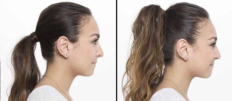 как сделать лицо визуально худее спомощью прически