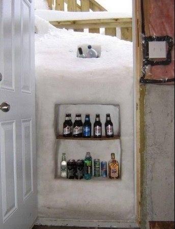Новый холодильник))