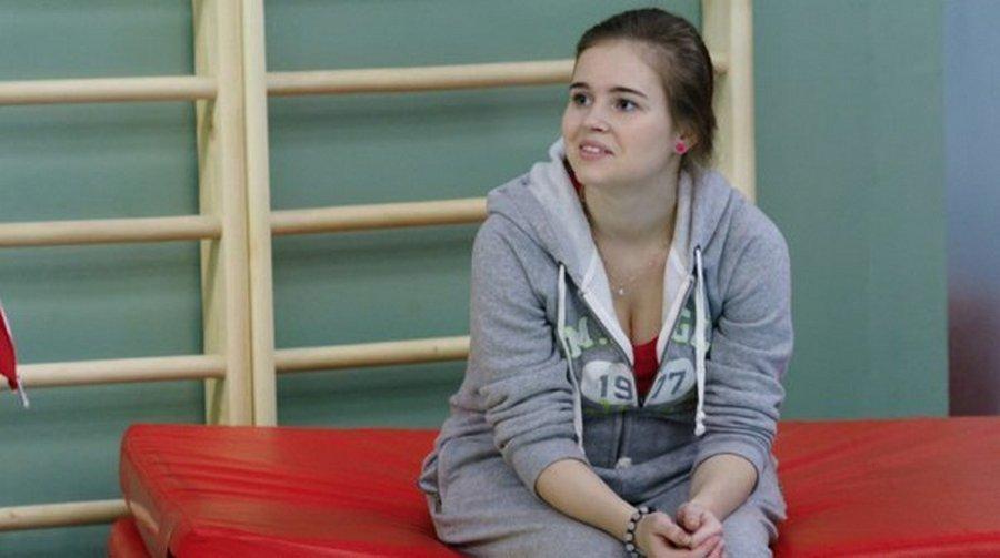 Полина Гренц — Саша Мамаева из сериала «Физрук» так держать!