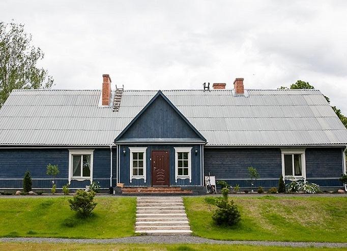 Загородный дом из заброшенной школы: мечты сбываются!