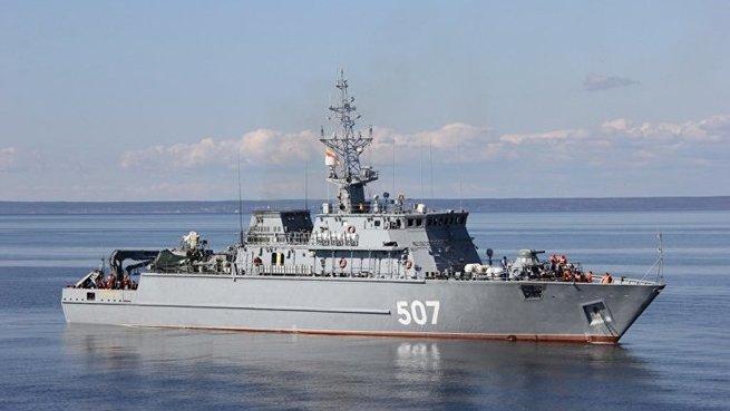 Головной корабль противоминной обороны «Александр Обухов» передали ВМФ