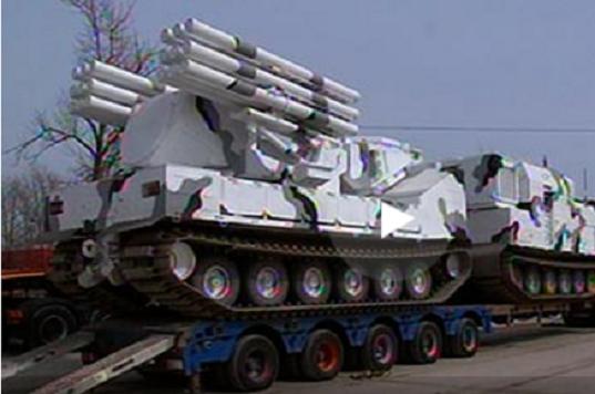 Военная техника отправлена в Москву для репетиции Парада (видео)