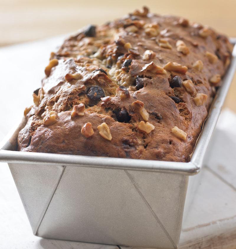 Ореховый бездрожжевой хлеб: простейший рецепт!