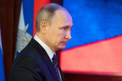 Путин выразил соболезнования родным погибших в катастрофе самолета Минобороны