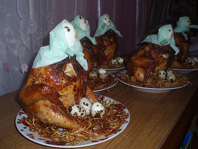 Почему нельзя есть на новый год курицу